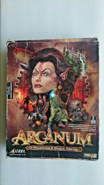 Arcanum (PC Windows 2001) - Big Box Edition